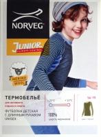 Подростковое термобелье Norveg Soft Junior Climate Comtrol верх