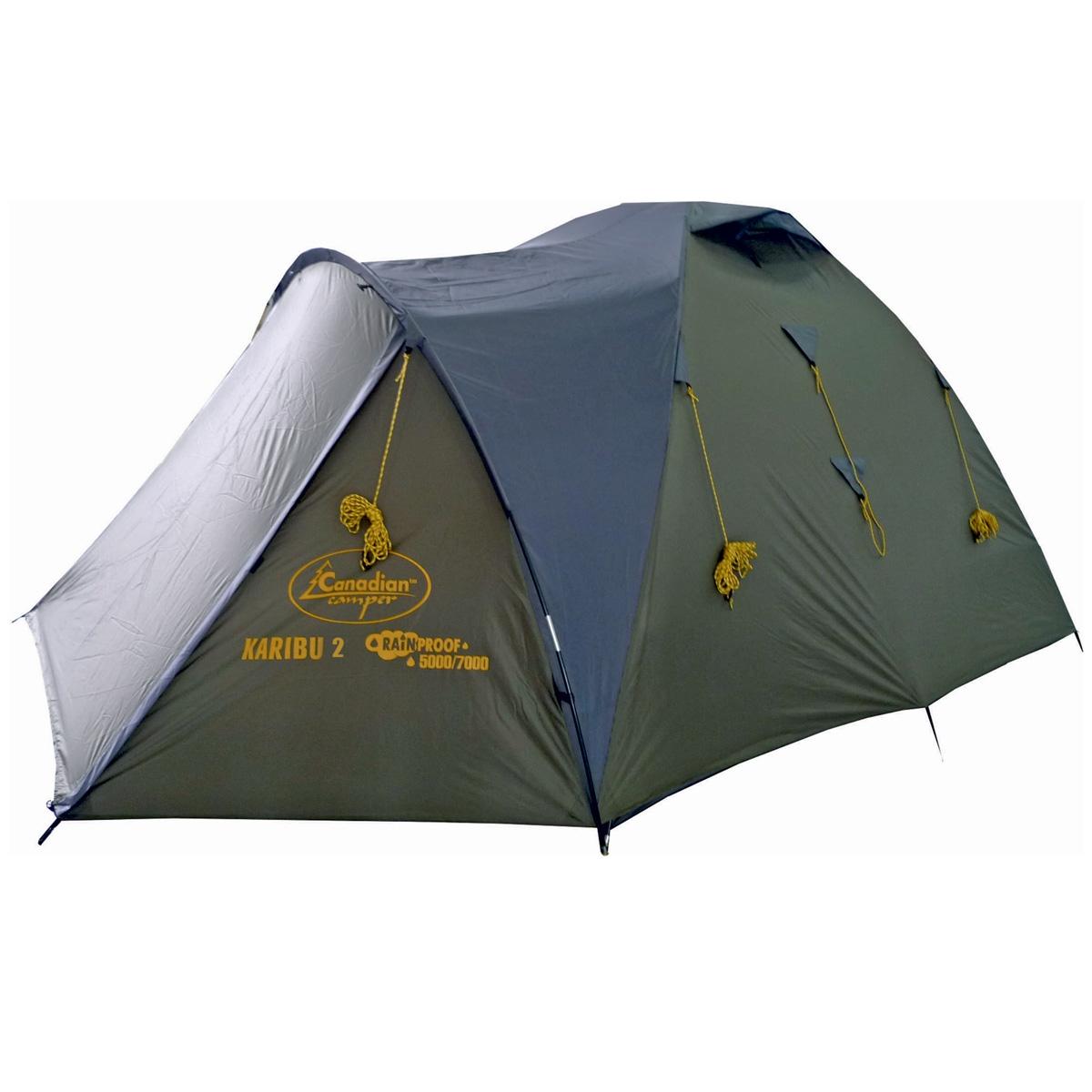 Палатка Canadian Camper KARIBU 2 Forest